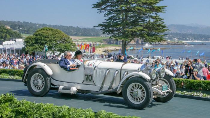 Гоночный монстр 1930-х годов - Mercedes-Benz 710 SS Рудольфа Караччиолы. | Фото: robbreport.com.