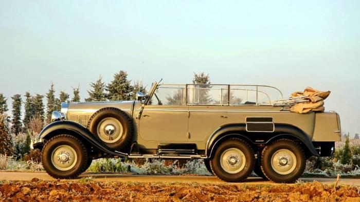 С 1934 по 1939 гг. выпущено всего 57 экземпляров Mercedes-Benz G4. | Фото: youtube.com.