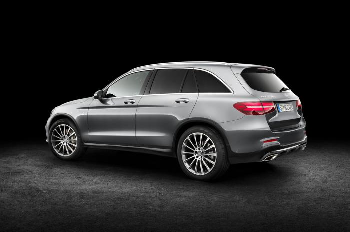 Mercedes-Benz GLC – компактный немецкий кроссовер.