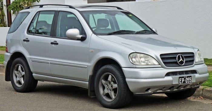 Mercedes-Benz M-klass 1997-2001 г.в.