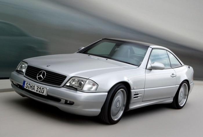 SL 73 AMG обладал самым объемным двигателем из когда-либо стоявших на легковых Mercedes-Benz.