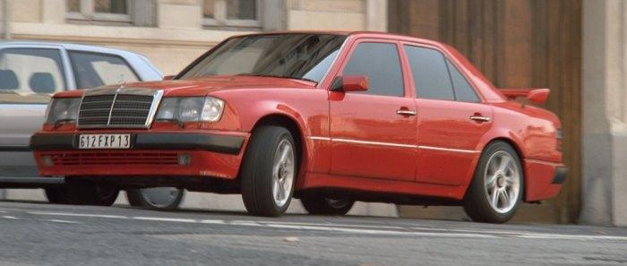 Mercedes-Benz 500 E 1992 года снимались в фильме «Такси». | Фото: imcdb.org.