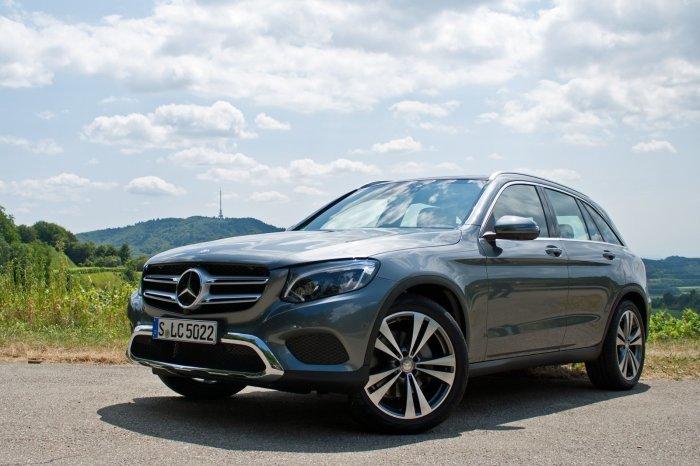 Новый люксовый кроссовер Mercedes-Benz GLC начали выпускать в 2015 году.