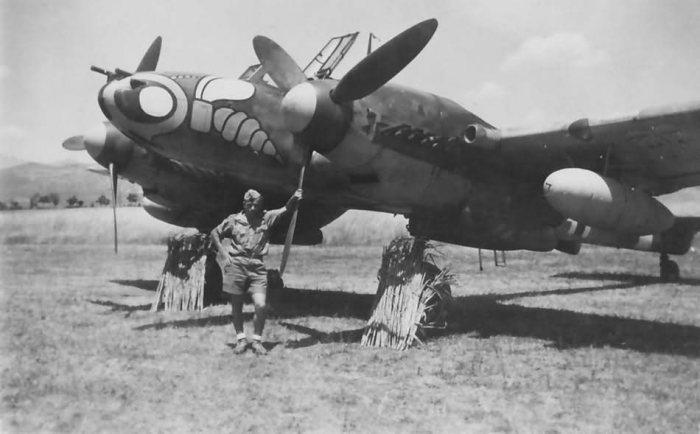 Двухмоторный Messerschmitt Bf.110 из эскадры ZG1.   Фото: worldwarphotos.info.