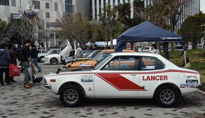 Mitsubishi Lancer 1600 GSR – автомобиль, сделавший себе имя в автоспорте 1970-х.