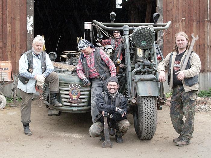 Семья Нёйбель, создавшая Panzerbike.