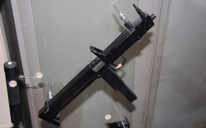 Пистолет-пулемет ПП-90, который стоит на вооружении российского спецназа.