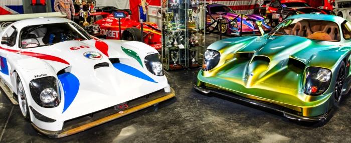 Гоночная и дорожная версии Panoz Esperante GTR-1.