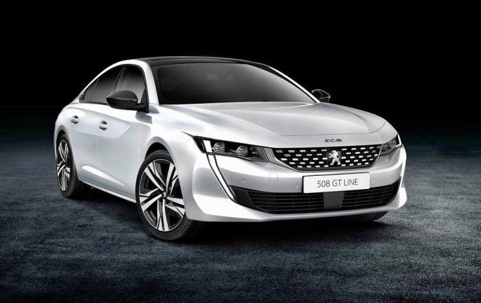 Новый Peugeot 508 будет конкурировать с Audi A4, BMW 3-й серии и Mercedes C-klasse. | Фото: hvilkenbil.dk.