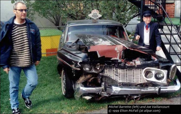 Рекордный Plymouth Fury после аварии в 1999 году. | Фото: allpar.com.