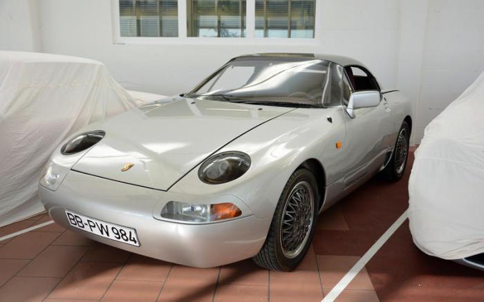 Прототип Porsche 984 – первый автомобиль для молодых водителей. | Фото: autocar.co.uk.