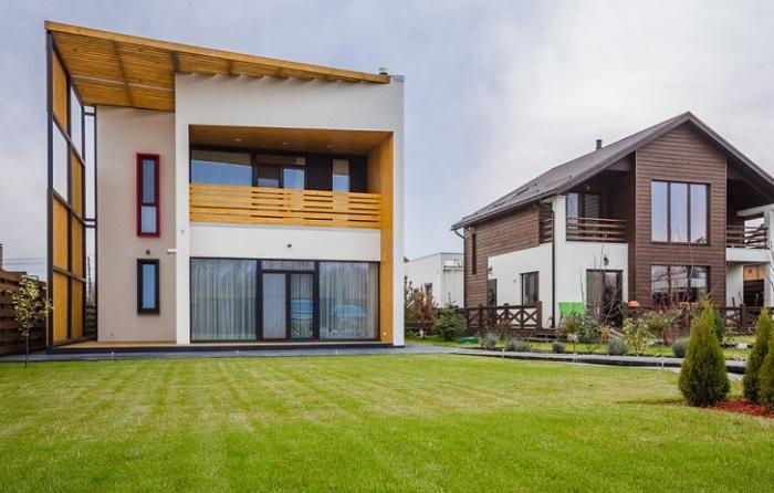 Загородный дом от киевских архитекторов мастерской Workshop Grynevich Dmitriy.