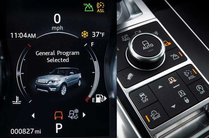 Особенности управления современным Land Rover. | Фото: cheatsheet.com.