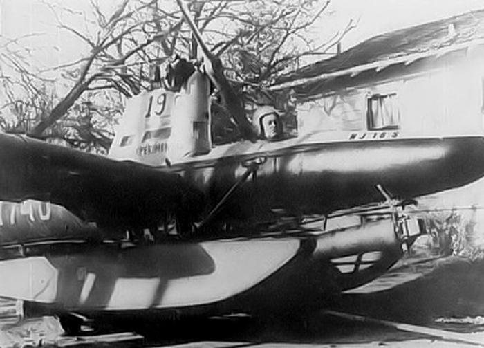 Американец Дональд Рейд за штурвалом летающей подводной лодки. | Фото: diseno-art.com.