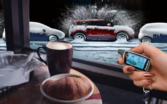 Пуск холодного автомобиля всего одной кнопкой.