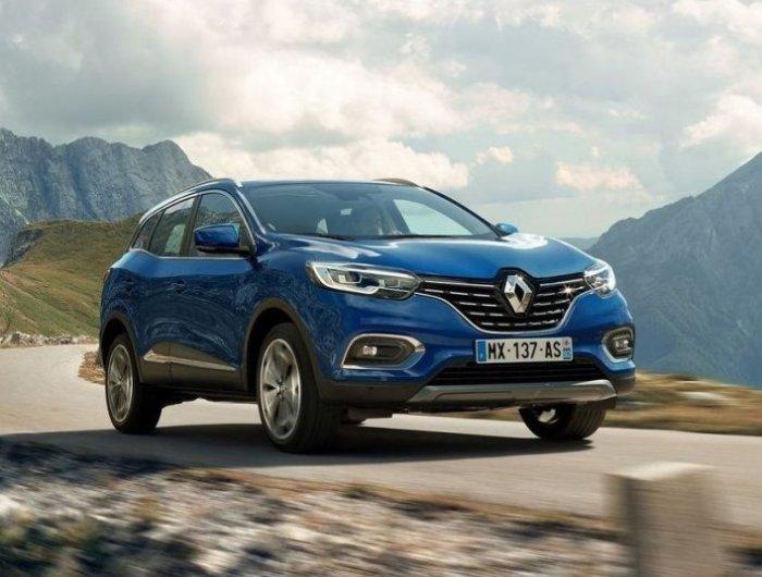 Обновленный компактный кроссовер Renault Kadjar.   Фото: all-test-drives.com.