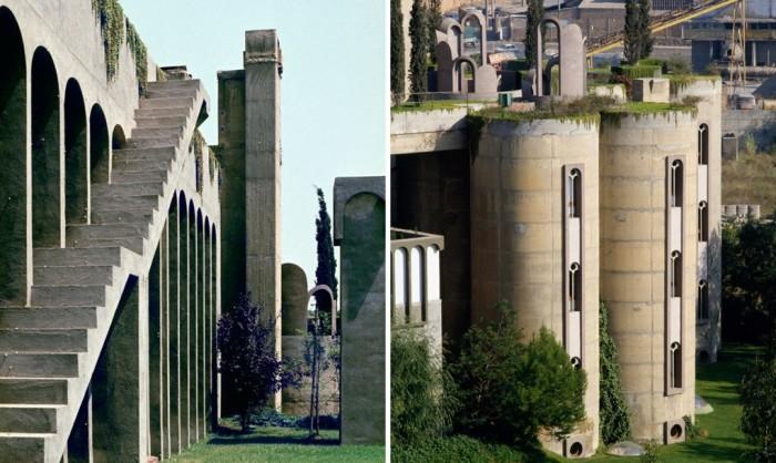 Проект перестройки бункеров от испанского архитектора Рикардо Бофилла (Ricardo Bofill).