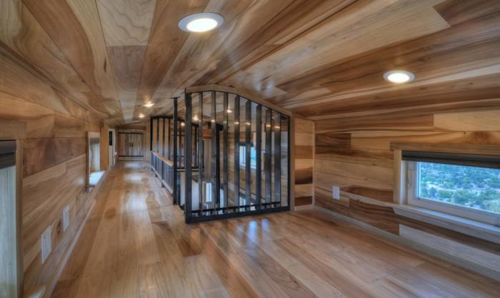 На втором этаже много свободного места. | Фото: inhabitat.com.