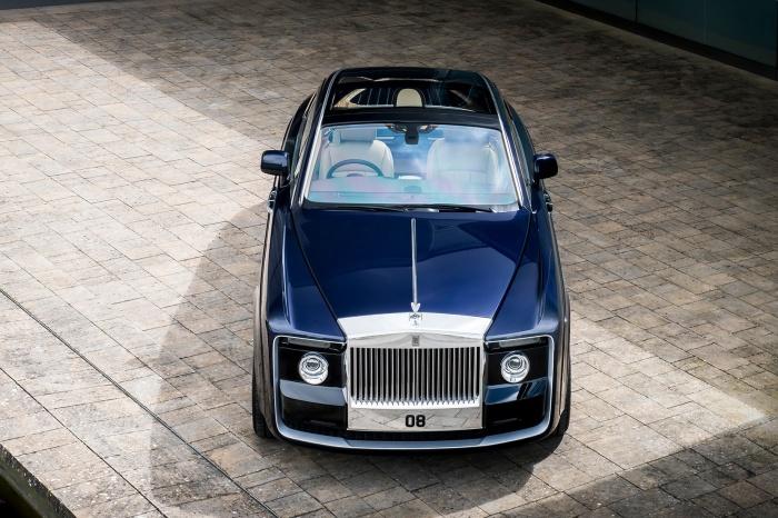 Rolls-Royce Sweptail, созданный по индивидуальному заказу.