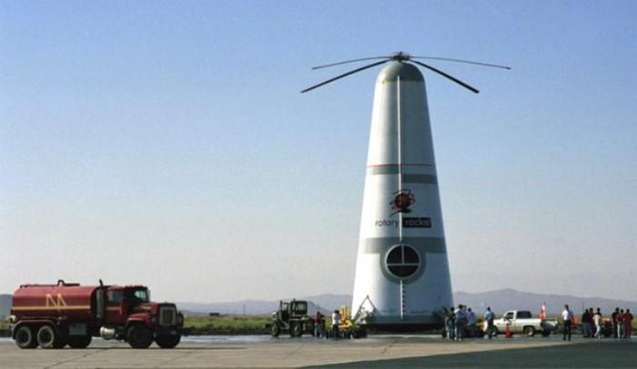 Rotary Rocket Roton – верхняя ступень космической ракеты. | Фото: strangernn.livejournal.com.