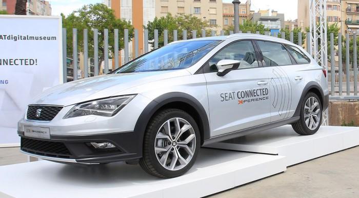 Seat Leon X-Perience с концепцией новой мультимедийной системы.