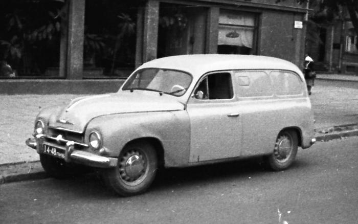 Чехословацкий фургон Skoda 1201 завозился в СССР с 1957 по 1968 гг.   Фото: auto.mail.ru.