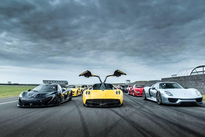 Эти машины созданы для скорости.