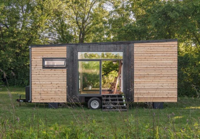 Alpha Tiny House - домик площадью 22 кв. метров.