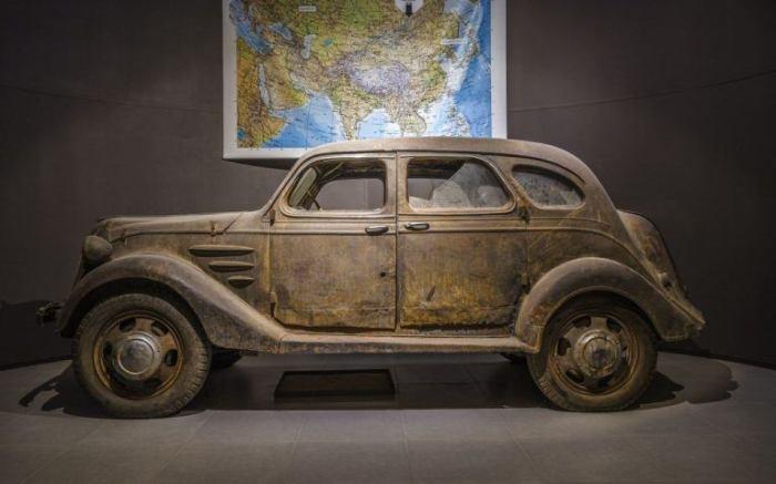 Самая старая Toyota в мире.