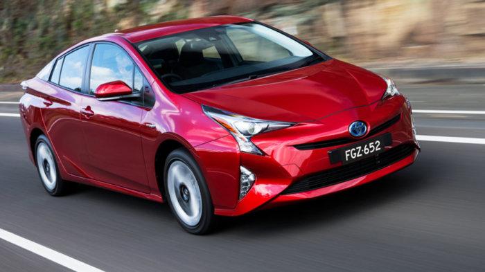 Toyota Prius- самый знаменитый гибридный автомобиль.