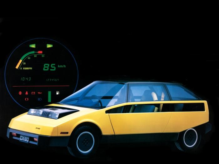 Компактный городской автомобиль Toyota FCX-80.