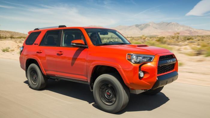 Брутальный внедорожник Toyota 4Runner TRD Pro.
