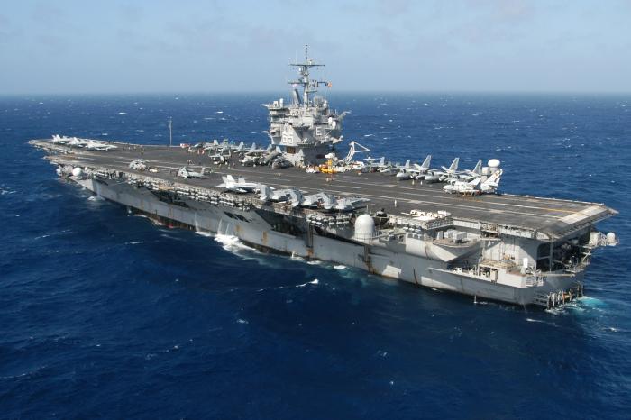 Американский атомный авианосец USS Enterprise (CVA-65). | Фото: it.pinterest.com.