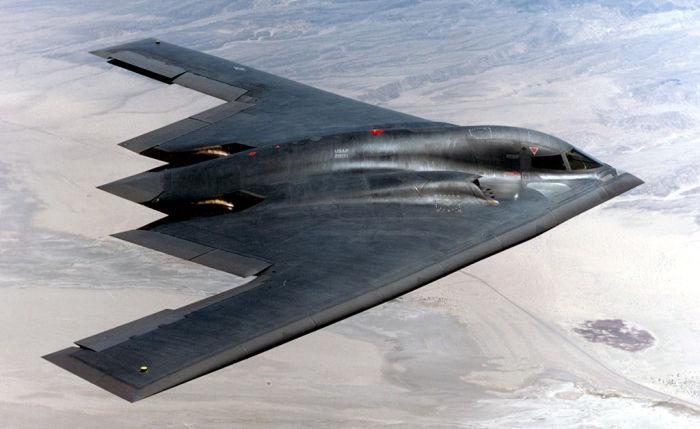 Northrop B-2 Spirit – американский стелс-бомбардировщик, самый дорогой самолет в мире.