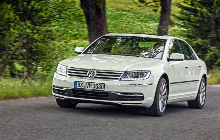 Volkswagen Phaeton – отличный автомобиль, продажи которого просто удручают.