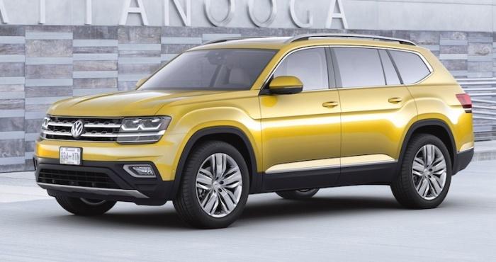 Volkswagen Atlas 2018 года. | Фото: cheatsheet.com.