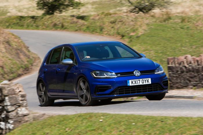 Самый новый Volkswagen Golf R. | Фото: autocar.co.uk.