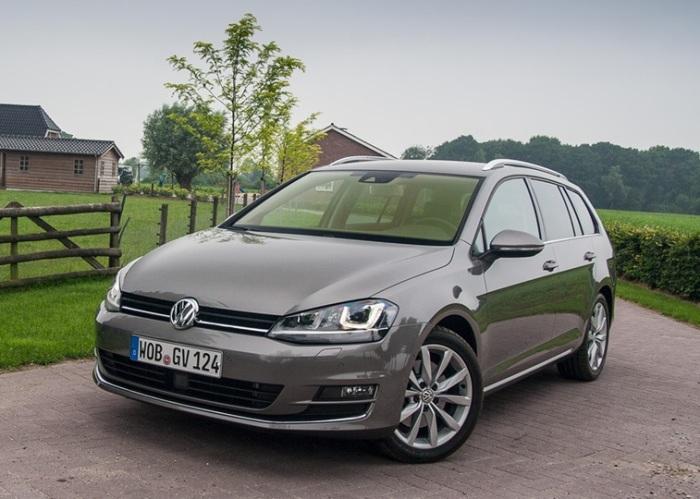 Экономный универсал Volkswagen Golf SportWagen.