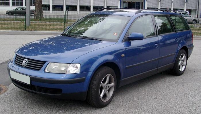 Volkswagen Passat поколения В5 имел много общего с Audi A4. | Фото: drive2.ru.