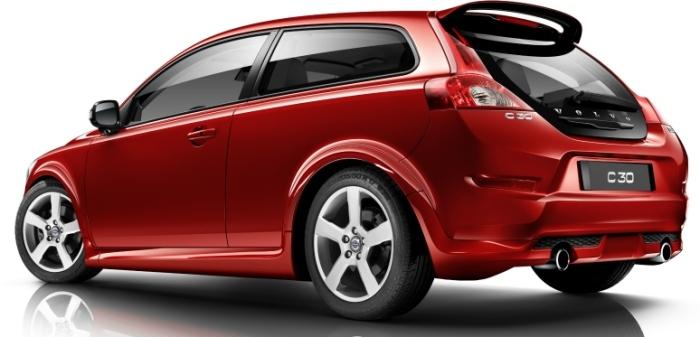 Компактный шведский хэтчбек Volvo C30. | Фото: cheatsheet.com.