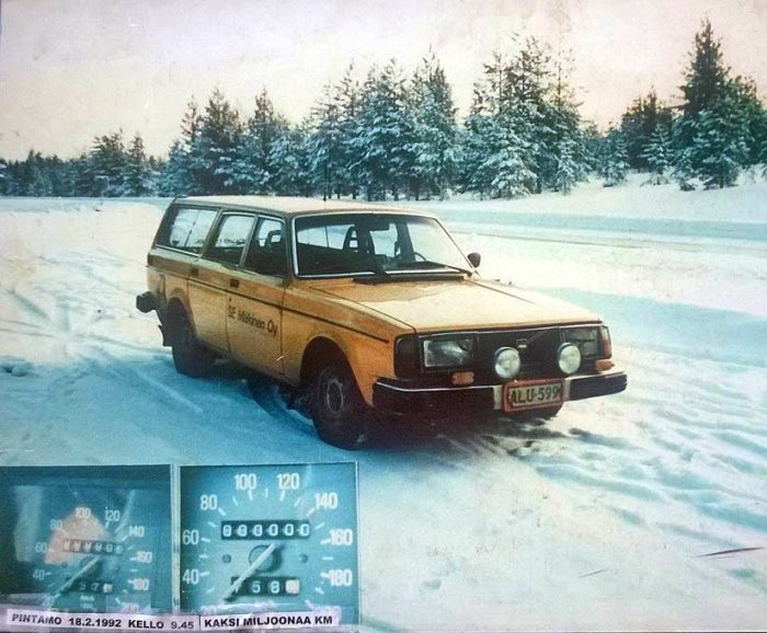 Volvo 245 GL выпускался с 1975 по 1983 год. | Фото: m.iltalehti.fi.