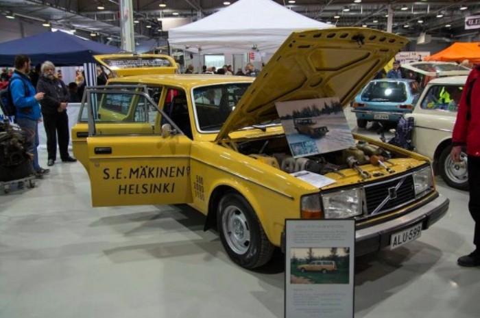 Корпоративный универсал Volvo 245 GL. | Фото: m.iltalehti.fi