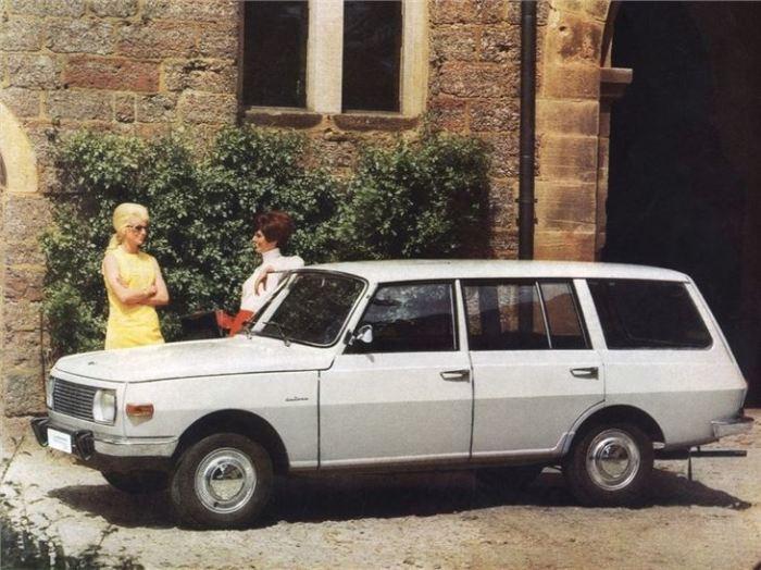 Wartburg с кузовом универсал.   Фото: classics.honestjohn.co.uk.