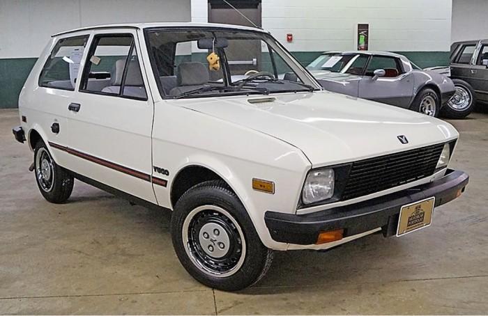 Yugo GV 1988 года, продававшийся в США.