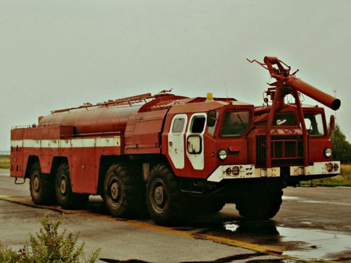 Пожарный автомобиль АА-60(7310)-160.