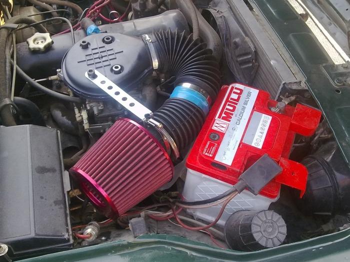 Если и ставить фильтр нулевого сопротивления, то только дорогую качественную модель. | Фото: drive2.ru.
