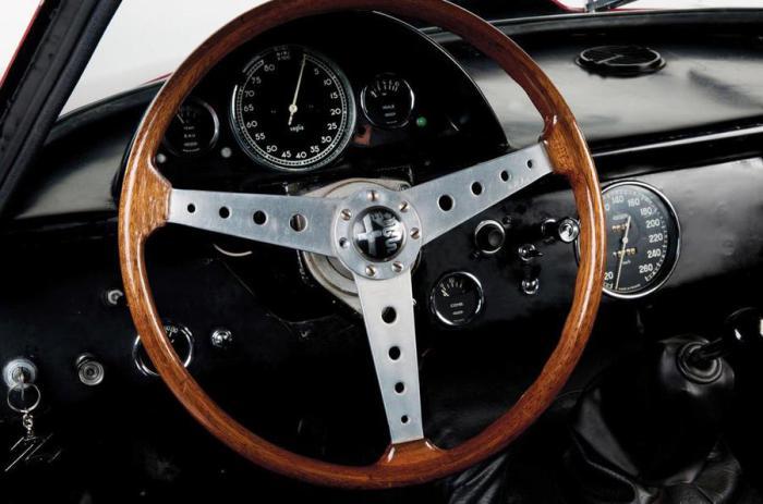 «Классический» руль Alfa Romeo Giulia GTA.