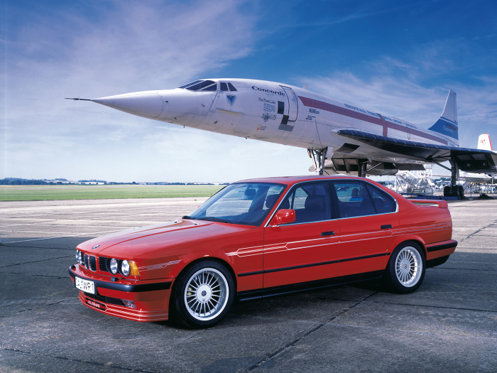 360-сильная BMW ALPINA B10 BITURBO выдает максимальную скорость до 290 км/ч. | Фото: alpina-automobiles.com.