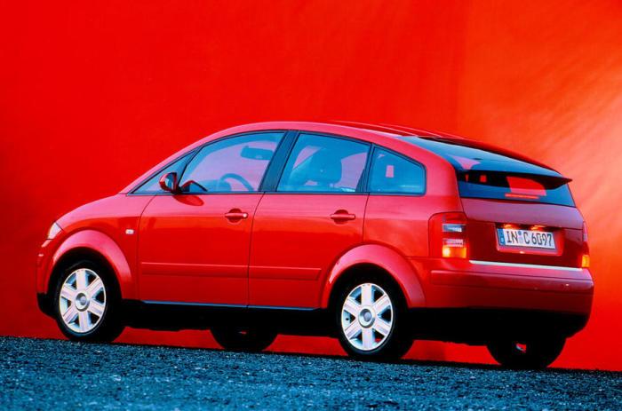 Компактный минивэн Audi A2. |<br> Фото: autocar.co.uk.