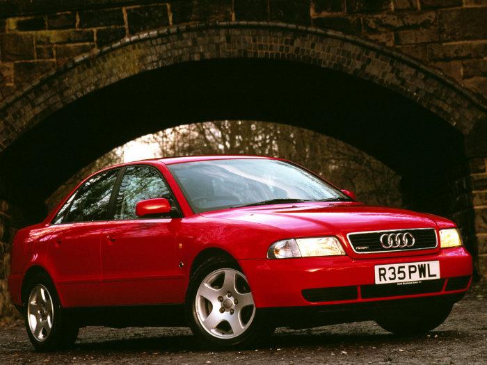 Седаны и универсалы Audi A4 выпускались с 1994 по 2001 год. | Фото: arki-porogi.ru.